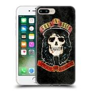 Official Guns N' Roses Vintage Stradlin Soft Gel Case For Apple Iphone 7 Plus