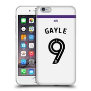 Official Newcastle United Fc Nufc 2016/17 Players Third Kit 1 Gayle Soft Gel Case For Apple Iphone 6 Plus / 6S Plus
