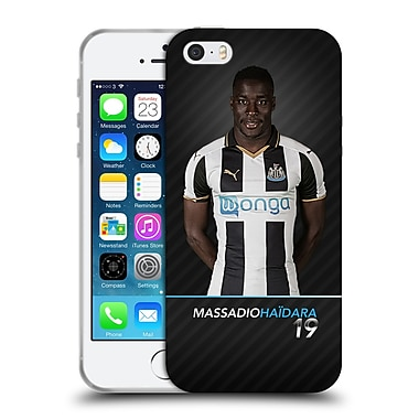 Official Newcastle United Fc Nufc 2016/17 First Team 1 Haidara Soft Gel Case For Apple Iphone 5 / 5S / Se