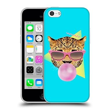 Official Robert Farkas Animals 2 Bubble Gum Leo Soft Gel Case For Apple Iphone 5C