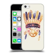 Official Robert Farkas Animals 2 Big Chief Soft Gel Case For Apple Iphone 5C