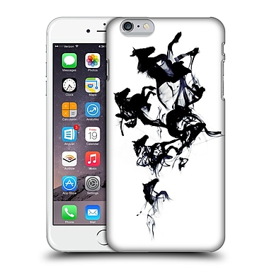 Official Robert Farkas Animals 3 Black Horses Hard Back Case For Apple Iphone 6 Plus / 6S Plus