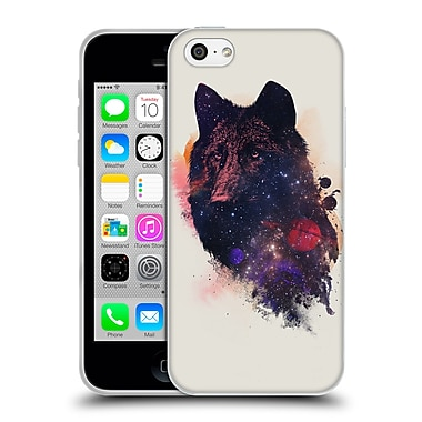 Official Robert Farkas Animals Universal Wolf Soft Gel Case For Apple Iphone 5C