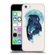 Official Robert Farkas Animals Midnight Owl Soft Gel Case For Apple Iphone 5C