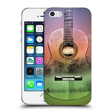 Official Mark Ashkenazi Music Map Soft Gel Case For Apple Iphone 5 / 5S / Se