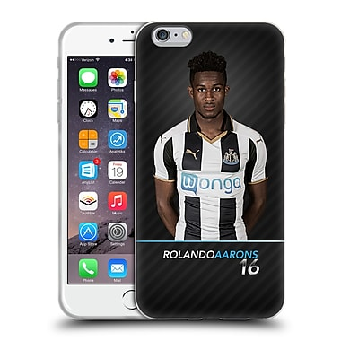 Official Newcastle United Fc Nufc 2016/17 First Team 2 Aarons Soft Gel Case For Apple Iphone 6 Plus / 6S Plus