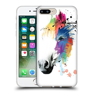 Official Mark Ashkenazi Animals Horse Portrait Soft Gel Case For Apple Iphone 7 Plus