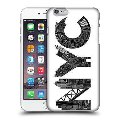 Official Robert Farkas Typography Nyc Hard Back Case For Apple Iphone 6 Plus / 6S Plus