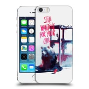 Official Robert Farkas Typography Still Waiting For Your Call Hard Back Case For Apple Iphone 5 / 5S / Se