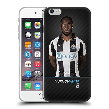 Official Newcastle United Fc Nufc 2016/17 First Team 2 Anita Soft Gel Case For Apple Iphone 6 Plus / 6S Plus