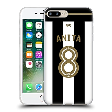 Official Newcastle United Fc Nufc 2016/17 Players Home Kit 1 Anita Soft Gel Case For Apple Iphone 7 Plus