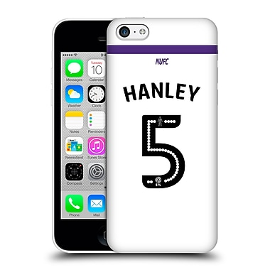 Official Newcastle United Fc Nufc 2016/17 Players Third Kit 1 Hanley Hard Back Case For Apple Iphone 5C