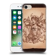 Official Brigid Ashwood Steampunk Octopus Pinup Girl 2 Hard Back Case For Apple Iphone 7