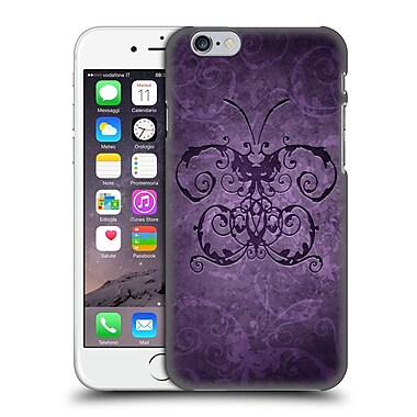 Official Brigid Ashwood Vintage Romance 2 Purple Butterfly Hard Back Case For Apple Iphone 6 / 6S