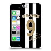 Official Newcastle United Fc Nufc Retro Badge Collection Alan Shearer Signed Gold Jersey Hard Back Case For Apple Iphone 5C