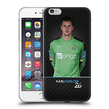 Official Newcastle United Fc Nufc 2016/17 First Team 1 Darlow Soft Gel Case For Apple Iphone 6 Plus / 6S Plus