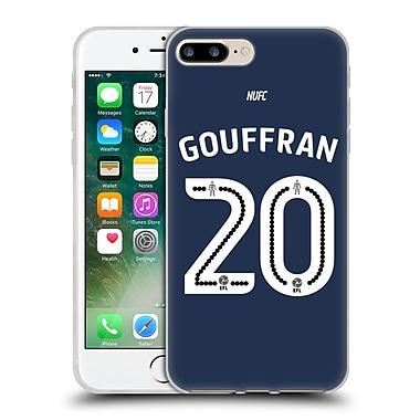 Official Newcastle United Fc Nufc 2016/17 Players Away Kit 1 Gouffran Soft Gel Case For Apple Iphone 7 Plus