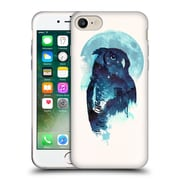Official Robert Farkas Animals Midnight Owl Soft Gel Case For Apple Iphone 7