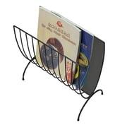 Mind Reader Magazine Wire Rack, Black, (MAGWIRE-BLK)