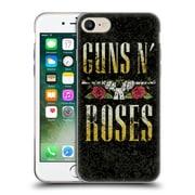 Official Guns N' Roses Key Art Text Logo Pistol Soft Gel Case For Apple Iphone 7