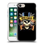 Official Guns N' Roses Key Art Top Hat Skull Soft Gel Case For Apple Iphone 7