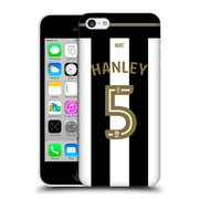 Official Newcastle United Fc Nufc 2016/17 Players Home Kit 1 Hanley Hard Back Case For Apple Iphone 5C