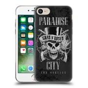 Official Guns N' Roses Vintage Paradise City Soft Gel Case For Apple Iphone 7