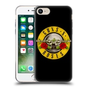 Official Guns N' Roses Key Art Bullet Logo Soft Gel Case For Apple Iphone 7
