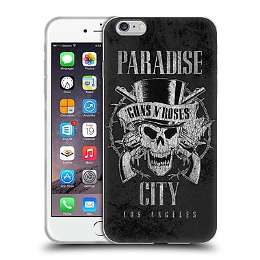 Official Guns N' Roses Vintage Paradise City Soft Gel Case For Apple Iphone 6 Plus / 6S Plus