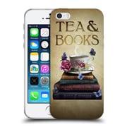 Official Brigid Ashwood Vintage Romance 2 Tea And Books Soft Gel Case For Apple Iphone 5 / 5S / Se