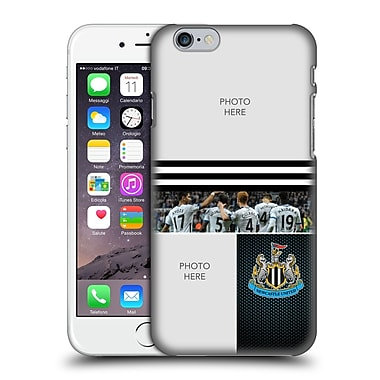 Custom Customised Personalised Newcastle United Fc Nufc 2016/17 Personalised Stripes Hard Back Case For Apple Iphone 6 / 6S