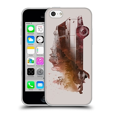 Official Robert Farkas Cars Drive Me Back Home Soft Gel Case For Apple Iphone 5C