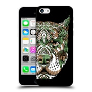 Official Bioworkz Coloured Canine 1 Pitbull 2 Hard Back Case For Apple Iphone 5C