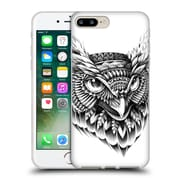 Official Bioworkz Aves Ornate Owl Head Soft Gel Case For Apple Iphone 7 Plus