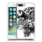 Official Bioworkz Animal Head Tiger Helm Soft Gel Case For Apple Iphone 7 Plus