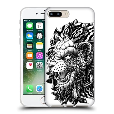 Official Bioworkz Animal Head Lion Soft Gel Case For Apple Iphone 7 Plus
