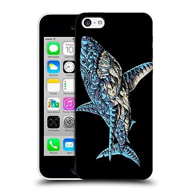 Official Bioworkz Coloured Ornate 1 White Shark Hard Back Case For Apple Iphone 5C
