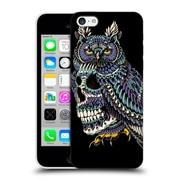Official Bioworkz Coloured Skulls 1 Great Horned Hard Back Case For Apple Iphone 5C