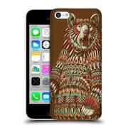 Official Bioworkz Coloured Wildlife 1 Grizzly Bear Hard Back Case For Apple Iphone 5C