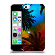 Official Haroulita Fantasy 4 Palm Trees Universe Soft Gel Case For Apple Iphone 5C