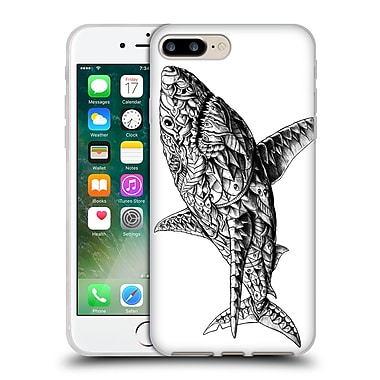 Official Bioworkz Ornate White Shark Soft Gel Case For Apple Iphone 7 Plus