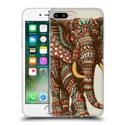 Official Bioworkz Coloured Wildlife 1 Ornate Elephant 2 Soft Gel Case For Apple Iphone 7 Plus