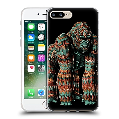 Official Bioworkz Coloured Wildlife 1 Silverback Soft Gel Case For Apple Iphone 7 Plus
