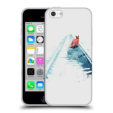 Official Robert Farkas Fox From Nowhere To Nowhere Soft Gel Case For Apple Iphone 5C