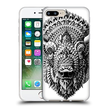 Official Bioworkz Animal Head Bison Soft Gel Case For Apple Iphone 7 Plus