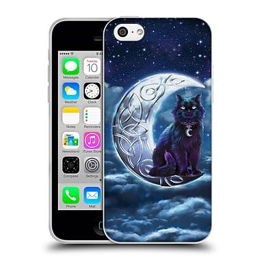 Official Brigid Ashwood Celtic Wisdom 2 Black Cat Soft Gel Case For Apple Iphone 5C