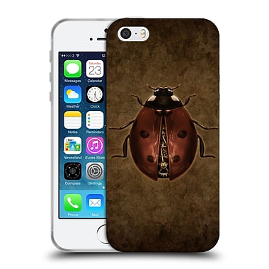 Official Brigid Ashwood Winged Things Steampunk Ladybug Soft Gel Case For Apple Iphone 5 / 5S / Se