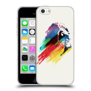 Official Robert Farkas Animals 3 Our Hero Lion Soft Gel Case For Apple Iphone 5C