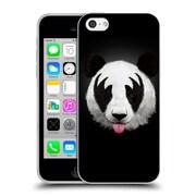 Official Robert Farkas Animals Rockstar Kiss Of A Panda Soft Gel Case For Apple Iphone 5C