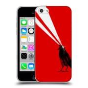 Official Robert Farkas Animals 3 Laser Crow Soft Gel Case For Apple Iphone 5C